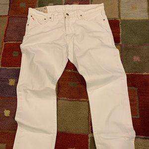 Polo Ralph Lauren Varick Slim Straight White Jeans